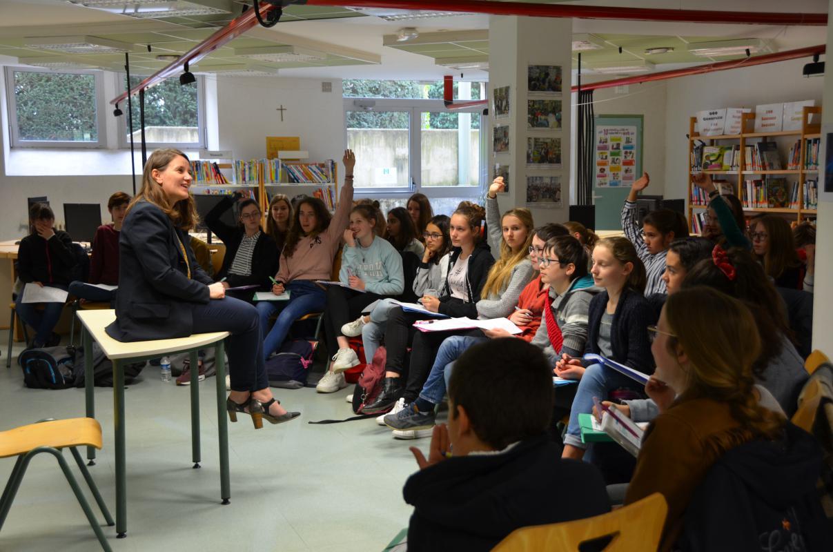 Rencontre auteur Carol Prieur (1)