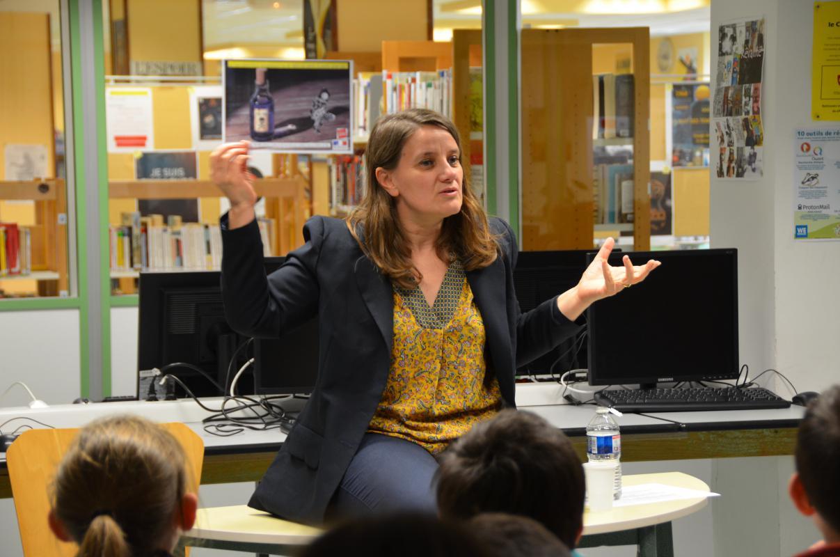 Rencontre auteur Carol Prieur (2)