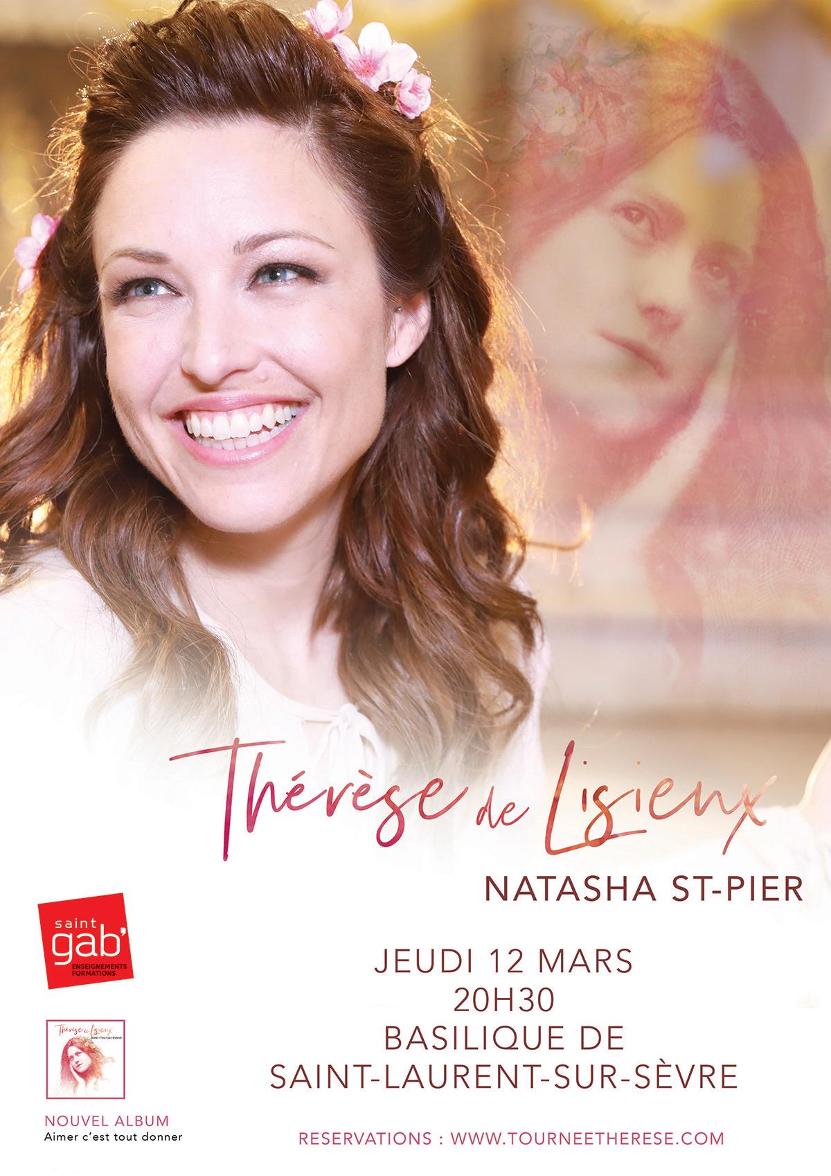 Affiche Natasha St-Pier2020