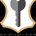 logo recyclefs avec slogan fond transparent HD